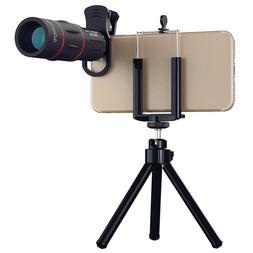 Cell Phone Camera telephoto Lens, 18X Zoom Telephoto Univers