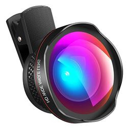 AMIR Cell Phone Lens, 2 in 1 Professional HD Camera Lens Kit
