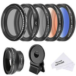 Neewer 37 MM Cell Phone Lens Accessory Kit, Includes 0.45X W