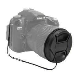 Fotga 52mm Center Pinch Front Lens Cap for Canon Nikon Sony