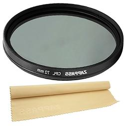 72mm Circular Polarizer CPL Filter for CANON , NIKON  Lenses