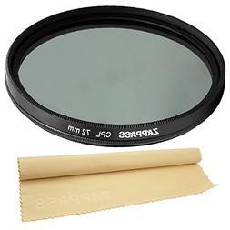 72mm Circular Polarizer CPL Filter for CANON , NIKON  Lenses