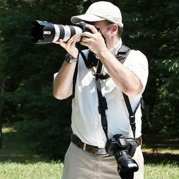 SAFARI Classic Neck Strap & Twin Kit for SLR with Telephoto