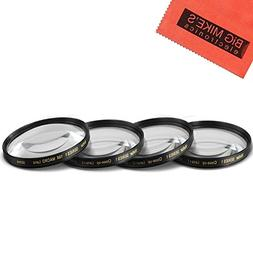 58mm Close-Up Filter Set  Magnificatoin Kit for Canon Rebel
