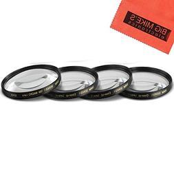 52mm Close-Up Filter Set  Magnificatoin Kit for Canon, Nikon