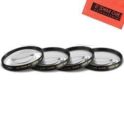 67mm Close-Up Filter Set  Magnificatoin Kit for Nikon CoolPi