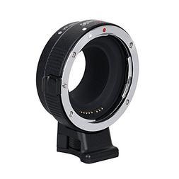 Commlite CM-EF-EOS M Electronic Auto-Focus Lens Mount Adapte
