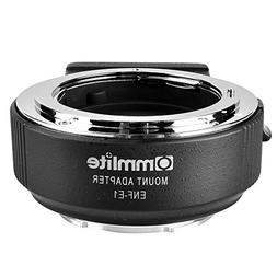 Commlite CM-ENF-E1 PRO Nikon Tamron Sigma F Mount Lens to So