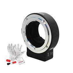 Commlite cm-ENF-E1 Pro Nikon F Mount Lens to Sony E Mount Au