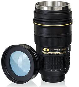 Camera Lens Mug EF 70-200mm Refreshment Coffee Cup for Canon Fans Photography Enthusiast Festival Gifts 2nd Generation White LMC09W