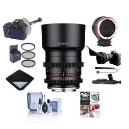 Rokinon 35mm Compact T1.3 High Speed Cine Lens for Sony E Mo