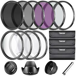 Neewer 67MM Complete Lens Filter Accessory Kit for Lenses wi