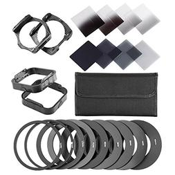 Neewer Complete ND Filter Kit for Cokin P Series:  ND Filter