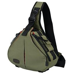 CADeN DSLR Camera Sling Bag Compatible for 1 Camera, 2 Lens,