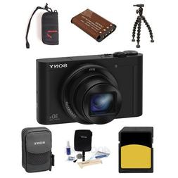 Sony Cyber-shot DSC-WX500 Digital Camera 18.2MP Black - Bund