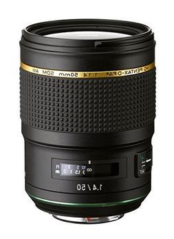Pentax HD Pentax D FA 50mm 1.4 SDM AW Full Frame, All Weathe