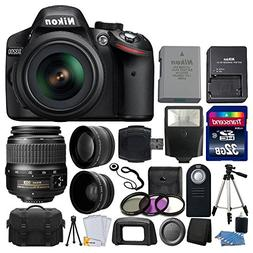 Nikon D3200 24.2 MP CMOS DSLR Camera  + 18-55mm ED II AF-S D