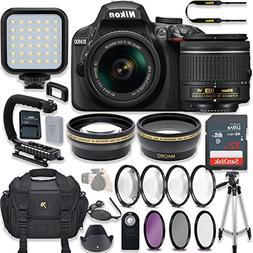 Nikon D3400 24.2 MP DSLR Camera  Video Kit with AF-P DX NIKK