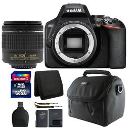 Nikon D3500 24.2MP Digital SLR Camera +  18-55mm Lens + 32GB