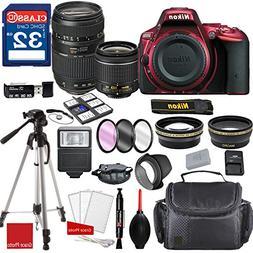 Nikon D5500 DX-format Digital SLR  w/AF-P DX NIKKOR 18-55mm