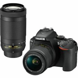 Nikon D5600 Digital SLR Camera with AF-P DX Nikkor 18-55 and