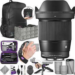 Sigma 16mm F1.4 DC DN Contemporary Lens for Sony E Mount Cam