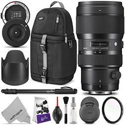 Sigma 50-100mm F1.8 Art DC HSM Lens for Canon DSLR Cameras w