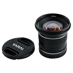 JARAY Wide Angle 12mm F2.8 Manual Prime Lens Low Distortion
