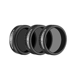 Neewer DJI Mavic Air Lens Filter Kit - 3 Pieces Pro Neutral