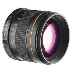 DigitalMate DM85MMC 85-85mm f/1.8-22 Medium-Telephoto Fixed