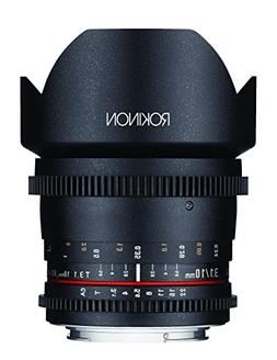Rokinon DS10M-MFT 10mm T3.1 Cine Wide Angle Lens for Olympus