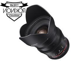 Rokinon DS24M-NEX Cine DS 24mm T1.5 ED AS IF UMC Full Frame