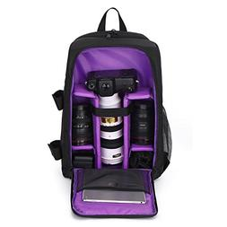 DSLR Camera Backpack Waterproof Light Weighted Laptop Camera