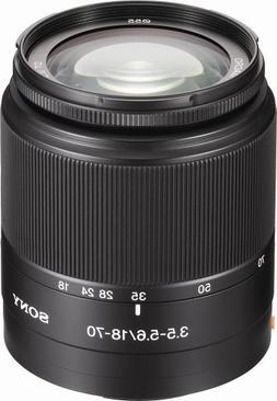 Sony DT 18-70mm f/3.5-5.6 Aspherical ED Standard Zoom Lens f