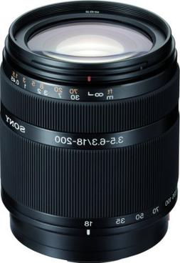 Sony DT 18-200mm f/3.5-6.3 Aspherical ED High Magnification