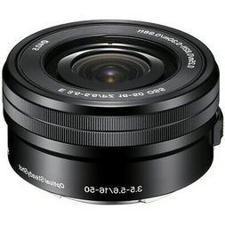 Sony E PZ 16-50mm f/3.5-5.6 OSS Lens for Sony E-Mount Black