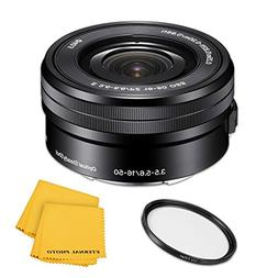 SonyE PZ 16-50mm f/3.5-5.6 OSS Lens - Black