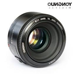 YONGNUO EF 50mm f/1.8 Prime Lens Aperture Auto Focus for Can