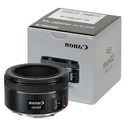 Canon EF 50mm f/1.8 STM Lens in ORIGINAL RETAIL BOX
