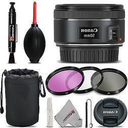 Canon EF 50mm f/1.8 STM Lens For Canon DSLR Cameras - BRAND