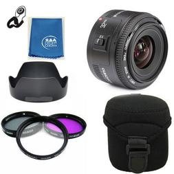 Yongnuo EF 35mm F2 C Wide Angle Fixed Prime Auto Focus Lens