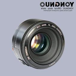 Yongnuo EF 50mm F/1.8 AF/ MF Standard Prime Lens same as Can