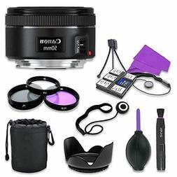 Canon EF 50mm f/1.8 STM Lens for Canon Digital SLR Cameras w
