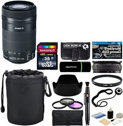 Canon EF-S 55-250mm F/4-5.6 IS STM Telephoto Zoom Lens for E