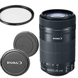 Canon EF-S 55-250mm f/4-5.6 IS STM Telephoto Zoom Lens for C