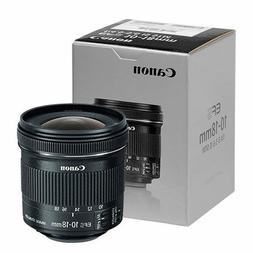 Canon EF-S 10-18mm f/4.5-5.6 IS STM Lens - 9519B002 - Brand