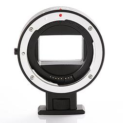 FocusFoto Electronic Full Frame Auto Focus Adapter Ring for