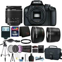 Canon EOS 4000D 18MP Digital SLR Camera + 18-55mm Lens + 16G