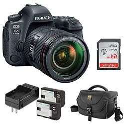 Canon EOS 6D Mark II DSLR Camera with EF 24-105mm f/4L IS II
