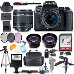 Canon EOS 77D DSLR Camera with Canon 18-55mm STM Lens Kit +